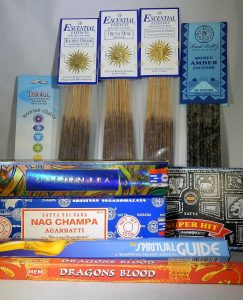Incense Sticks and Wands