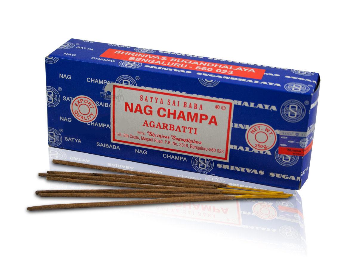 Nag Champa Original Satya Sai Baba Stick Incense 250 Gr Heaven Nature Store