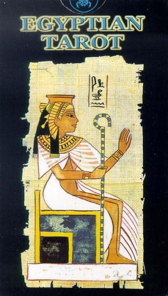 Egyptian Tarot Kit Deck Book Loscar: Egyptian Tarot Deck (78-card Deck & Instruction Booklet