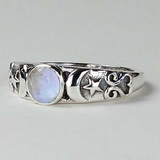 Moonstone Goddess Ring